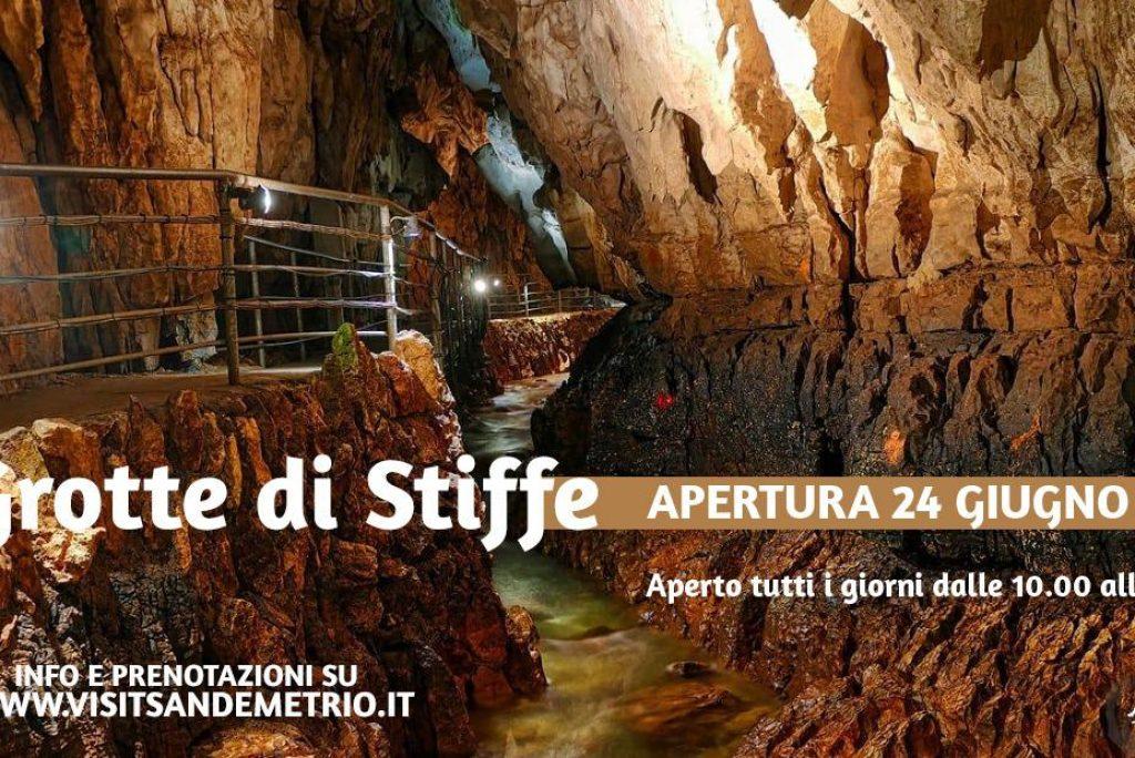 Apertura Grotte dal 24 Giugno